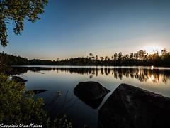 Iglasjön Torsås 062019 06 (U. Heinze) Tags: schweden sverige sweden smaland himmel sky wasser see olympus penf