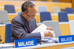 Intergovernmental Committee on Intellectual Property and Genetic Resources, Traditional Knowledge and Folklore (WIPO | OMPI) Tags: delegate malaysia wipo igc ompi