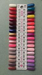 3 - DND Gel Polish Color Palette (NailArtsDelafield) Tags: dnd gel polish colors shellac no chip nail nails palette color gelixer