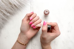 Basic Manicure Pink (NailArtsDelafield) Tags: manicure gel french nails manicures