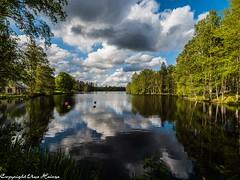 Transjö 062019 01 (U. Heinze) Tags: schweden sverige sweden smaland himmel sky wasser see olympus penf
