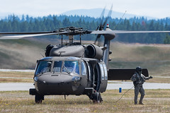 ARMY COPTER 20966 (Kaiserjp) Tags: 20966 ftlewis grayaaf h60 jblm usarmy uh60 uh60m