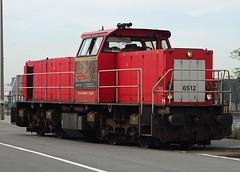 DB Schenker - Diesellocomotive N° 6512 near the Wilmarsdonk-bridge. (Franky De Witte - Ferroequinologist) Tags: spoorwegen eisenbahn chemin de fer railway железная дорога السكك الحديدية estrada ferro 鉄道 ferrocarril 铁路 ferrovia 철도