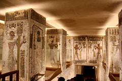Valle de los Reyes - (95) (Rubén Hoya) Tags: valle de los reyes faraones tumbas sarcofago jeroglificos egipto