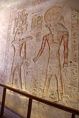 Valle de los Reyes - (51) (Rubén Hoya) Tags: valle de los reyes faraones tumbas sarcofago jeroglificos egipto