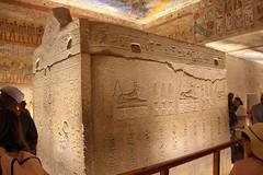 Valle de los Reyes - (25) (Rubén Hoya) Tags: valle de los reyes faraones tumbas sarcofago jeroglificos egipto
