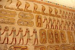 Valle de los Reyes - (13) (Rubén Hoya) Tags: valle de los reyes faraones tumbas sarcofago jeroglificos egipto