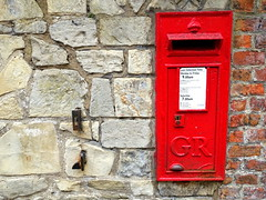 Postal relic at York - Explored (Tony Worrall) Tags: york uk england place north location update past relic olden yorks yorkshirephotos greatbritain english metal stone wall outside outdoors photo stream shoot tour open shot post britain sale country letters stock captured picture visit area gb buy postbox british gr capture sell caught redbox item attraction instragram ilobsterit