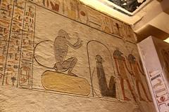 Valle de los Reyes - (72) (Rubén Hoya) Tags: valle de los reyes faraones tumbas sarcofago jeroglificos egipto