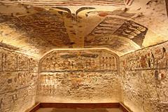 Valle de los Reyes - (69) (Rubén Hoya) Tags: valle de los reyes faraones tumbas sarcofago jeroglificos egipto