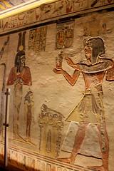 Valle de los Reyes - (62) (Rubén Hoya) Tags: valle de los reyes faraones tumbas sarcofago jeroglificos egipto