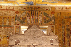 Valle de los Reyes - (43) (Rubén Hoya) Tags: valle de los reyes faraones tumbas sarcofago jeroglificos egipto