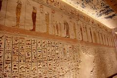 Valle de los Reyes - (9) (Rubén Hoya) Tags: valle de los reyes faraones tumbas sarcofago jeroglificos egipto