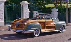 1947 Chrysler Cabriolet Town and Country (pontfire) Tags: 1947 chrysler cabriolet town country 47 convertible coupe woody bois américaine american véhicule collection pontfire car cars autos automobili automobile automobiles voiture voitures coche coches carro carros wagen classic old antique ancienne vieille veteran vintage classique bil αυτοκίνητο 車 автомобиль oldtimer 自動車 מכונית la 1er rallye enghienlesbains le touquet parisplage 40 40s auto vieux de décapotable us prestige exception d luxe luxury