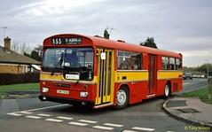 YDW755K BTS of Borehamwood (theroumynante) Tags: ydw 755k bts metroscania scania metrocammell br111mh bus buses road transport singledeck fullfront dualdoor newport corporation 355 borehamwood
