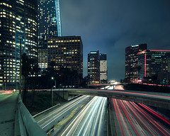 Los Angeles (Ken Cheng Photography) Tags: 405freeway longexposure cityscape losangeles tiltshift