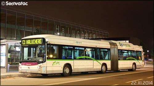 Heuliez Bus GX 427 hybrid - Semitan (Société d'Économie MIxte des Transports en commun de l'Agglomération Nantaise) / TAN (Transports en commun de l'Agglomération Nantaise) n°801