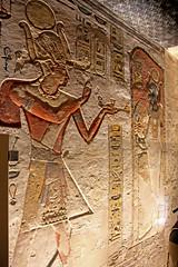 Valle de los Reyes - (88) (Rubén Hoya) Tags: valle de los reyes faraones tumbas sarcofago jeroglificos egipto