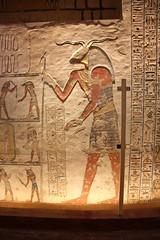 Valle de los Reyes - (57) (Rubén Hoya) Tags: valle de los reyes faraones tumbas sarcofago jeroglificos egipto
