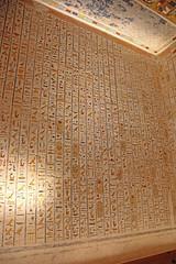 Valle de los Reyes - (45) (Rubén Hoya) Tags: valle de los reyes faraones tumbas sarcofago jeroglificos egipto