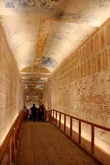 Valle de los Reyes - (11) (Rubén Hoya) Tags: valle de los reyes faraones tumbas sarcofago jeroglificos egipto