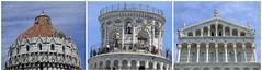 Pisas Dächer / Pisa's roofs (ursula.valtiner) Tags: dach roof glockenturm belltower schieferturm leaningtower baptisterium baptistery domsantamariaassunt domesantamariaassunt pisa toskana toscana tuscany italien italy