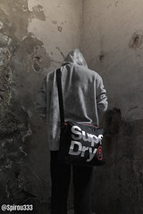 Social Abyss (Spirou333) Tags: lost place lostplace old dirt dust person hoodie