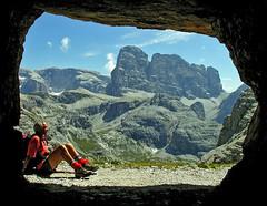 Cima Dodici / Zwölferkofel (Vid Pogacnik) Tags: italy mountain landscape outdoors italia hiking dolomites dolomiti zwölferkofel cimadodici