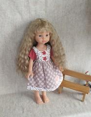 Doll wig (SvetlanaKonyaeva) Tags: doll dolls toy toys puppe puppen wig