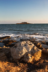 Isola delle Correnti II (iridescente77) Tags: sicilia sicily mare sea tramonto sunset