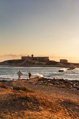 Isola delle Correnti I (iridescente77) Tags: sicilia sicily mare sea tramonto sunset
