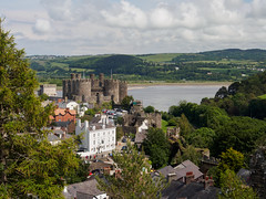 Town Walls of Conwy-E6101780 (tony.rummery) Tags: ancient castle city conwy em10 historic mft microfourthirds omd olympus sea town wales walls unitedkingdom