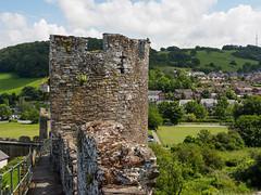 Town Walls of Conwy-E6101791 (tony.rummery) Tags: ancient city conwy em10 historic mft microfourthirds omd olympus ruin tower wales walls unitedkingdom