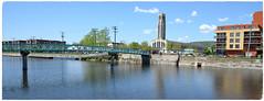 Canal de Lachine à Atwater (RarOiseau) Tags: canal passerelle marché architecture montréal canada 2014 saariysqualitypictures