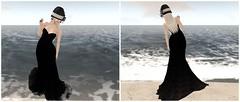 Romance (Cassy 666) Tags: dress black jr wolf balroom long
