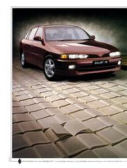 1993 Mitsubishi Gallant V6 Sedan Page 1 Aussie Original Magazine Advertisement (Darren Marlow) Tags: 1 3 6 9 19 93 1993 m mitisubishi g gallant v v6 s sedan c car cool collectible collectors classic a automobile vehicle j jap japan japanese asian asia 90s