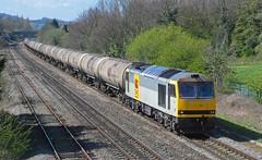 60077 at Cheltenham. (curly42) Tags: 60077 class60 ews railway freight transport tug
