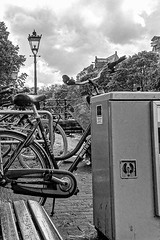 Bikes Power and Light (CloudBuster) Tags: iamsterdam amsterdam holland buldings canals sights sightseeing attractie stad city