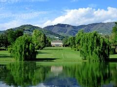 Villa Reale (ursula.valtiner) Tags: see lake wasser water spiegelung reflection marlia lucca villareale garten garden natur nature park toskana toscana tuscany italien italy
