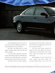 1993 Eunos 500 V6 Sedan Page 1 Aussie Original Magazine Advertisement (Darren Marlow) Tags: 1 3 5 9 19 93 1993 e eunos 50 500 s sedan c car cool collectible collectors classic a automobile v vehicle j jap japan japanese asian asia 90s
