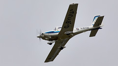 Grob Tutor (Bernie Condon) Tags: grob tutor raf military royalairforce basictrainer trainer dunsfold wingswheels airshow surrey uk aviation aircraft flying display