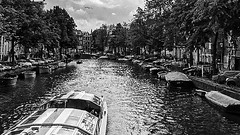 Amsterdam Canal I (CloudBuster) Tags: iamsterdam amsterdam holland buldings canals sights sightseeing attractie stad city