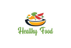 Design Minimalist Logo (DESIGNER PRINCE) Tags: logo food business line tag vegetables fruits corporate cook flat company organic modern corporateidentity identity branding natural healthy eat symbol brand diet nutrition eating businesslogo companylogo pan logotype pack vegetarian collection delicious set slogan tasty homemade tagline foodstuff