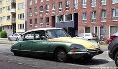 Citroën D Super 1970 (XBXG) Tags: de1293 citroën d super 1970 ds citroënds strijkijzer déesse tiburón snoek frederikhendrikstraat amsterdam green vert nederland holland netherlands paysbas vintage old classic french car auto automobile voiture ancienne française france frankrijk vehicle outdoor