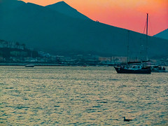 Harbour at dusk (AlphaLibrae) Tags: dusk harbour sea sunset boat