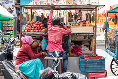 Fruit Seller, Pushkar (Geraint Rowland Photography) Tags: people realpeople candidphotography streetphotography travelphotography geraintrowlandphotography indianstreetsindianlife indianculture indianway seller marketseller fruitseller streetfood pushkarinrajasthaninindia colours canon lensculture thestreetsofindia wwwgeraintrowlandcouk