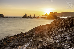 _69B6267 (DDPhotographie) Tags: eu asturies ddphotographie eau espagne gueirua landscape ocean plage playa roadtrip rocher rock spain sunrise sunset wwwddphotographiecom asturias