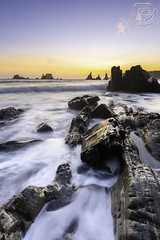 _69B6236 (DDPhotographie) Tags: eu asturies ddphotographie eau espagne gueirua landscape ocean plage playa roadtrip rocher rock spain sunrise sunset wwwddphotographiecom asturias
