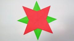 Easy Six Pointed Paper Star for Christmas | DIY Christmas Decorations (sanjidakhatun885) Tags: easy six pointed paper star for christmas | diy decorations