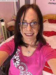 June 2019 (Girly Emily) Tags: crossdresser cd tv tvchix trans transvestite transsexual tgirl tgirls convincing feminine girly cute pretty sexy transgender boytogirl mtf maletofemale xdresser gurl glasses smile bedroom